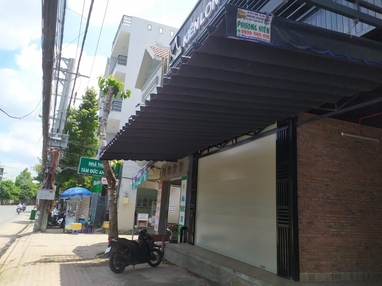 Mái che, mái xếp di động giá rẻ tại Long Xuyên