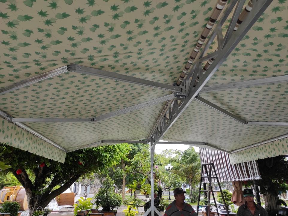 Mái che di động, sự lựa chọn tiện ích cho sân thượng